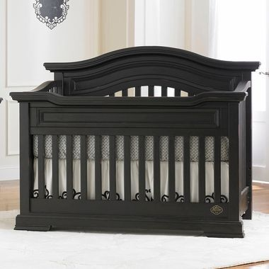 Bonavita Belmont Lifestyle 4 In 1 Convertible Crib In Distressed