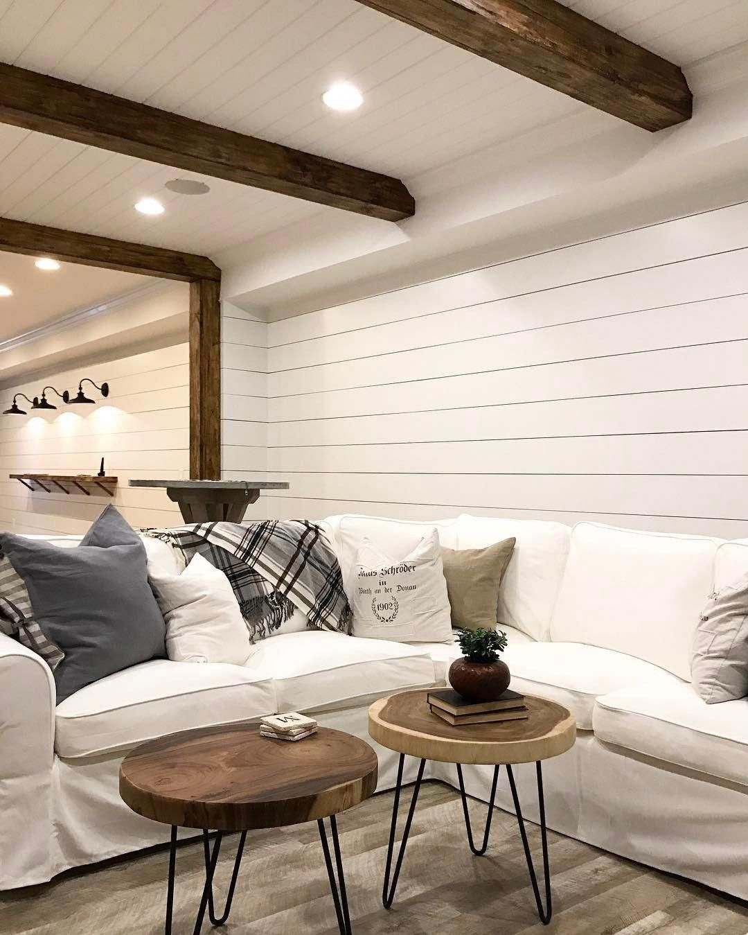 Give Your Basement Walls A Rustic Appearance Without