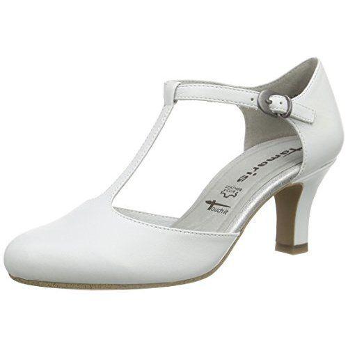 b362da6507428 Tamaris 24420 Damen T-Spangen Pumps: Amazon.de: Schuhe & Handtaschen ...