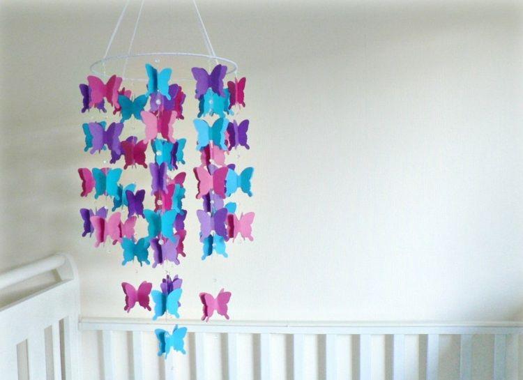 Schmetterlinge Selber Basteln Und Aufhängen
