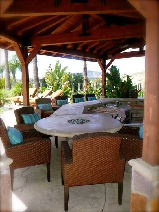 Tropical Patio Design, Pictures, Remodel, Decor and Ideas ...