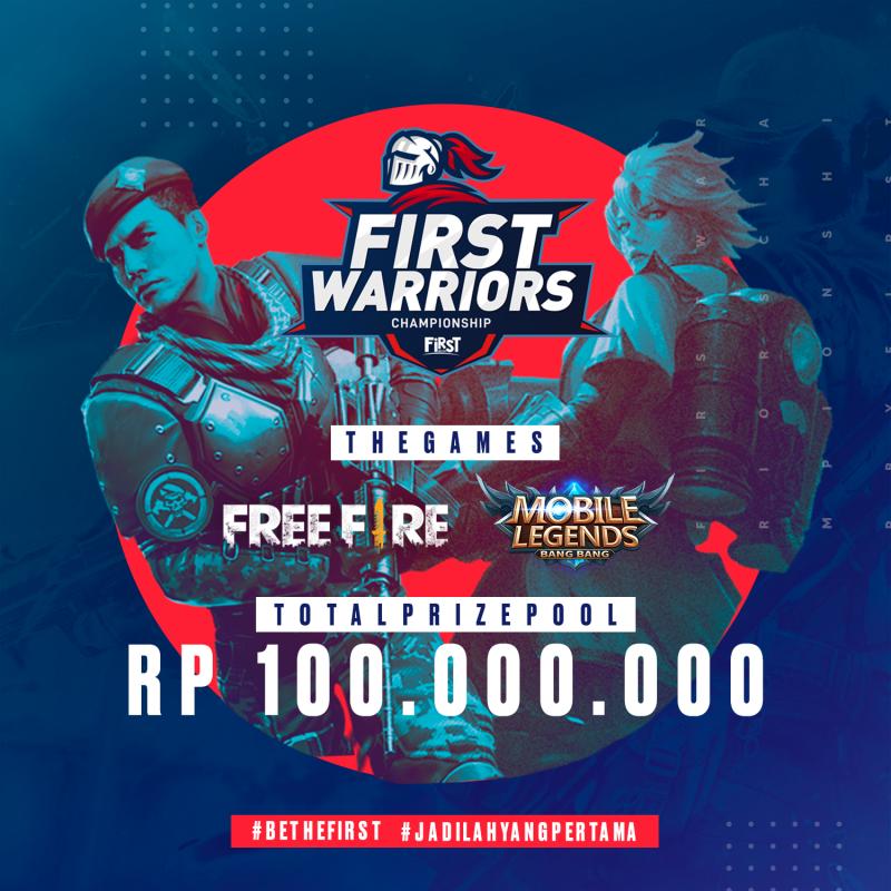 First Media Buka Pendaftaran Turnamen First Warriors Championship Kalimantan Game Kota