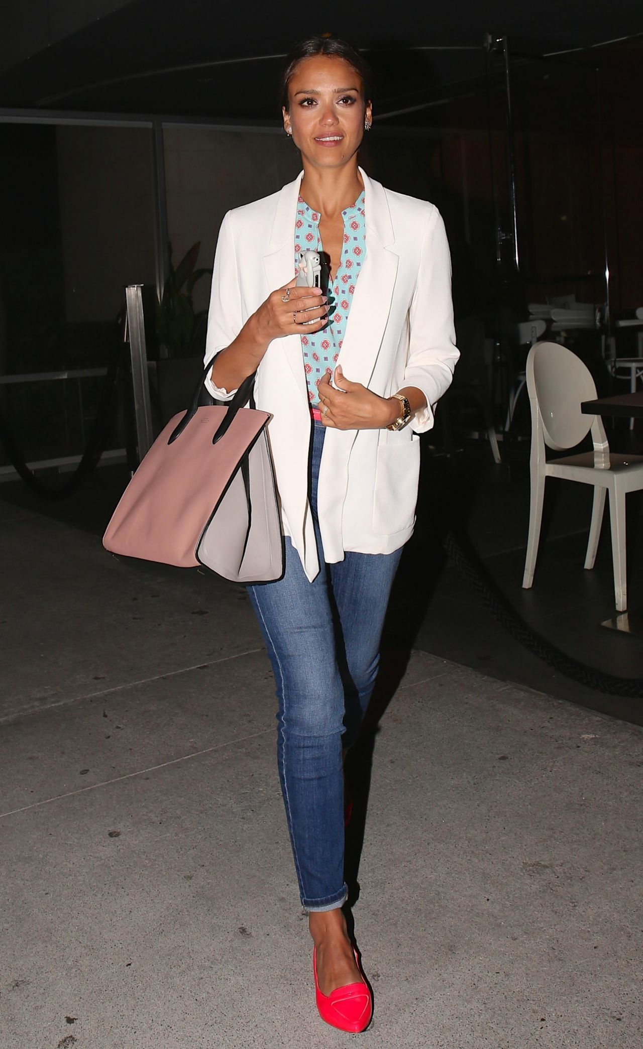 Jessica Alba Night Out Style