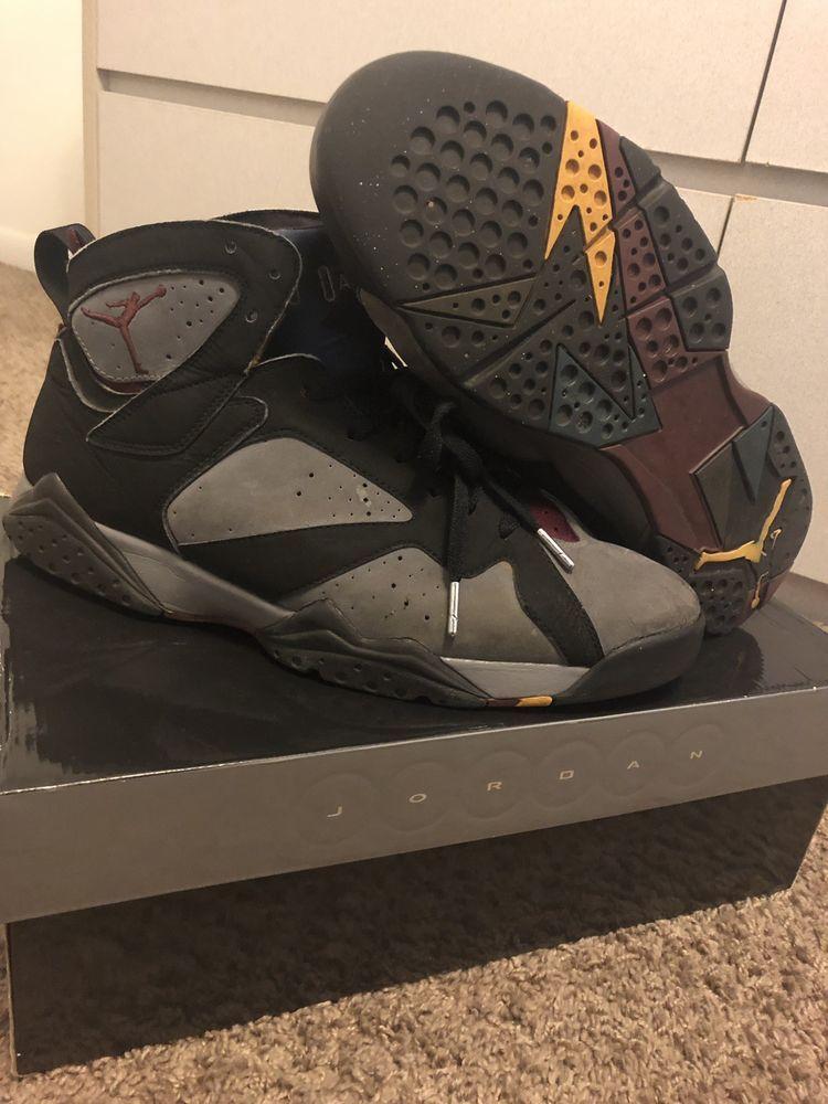 8b9ead69a08 Air Jordan 7 Bordeaux Size 13  fashion  clothing  shoes  accessories   mensshoes