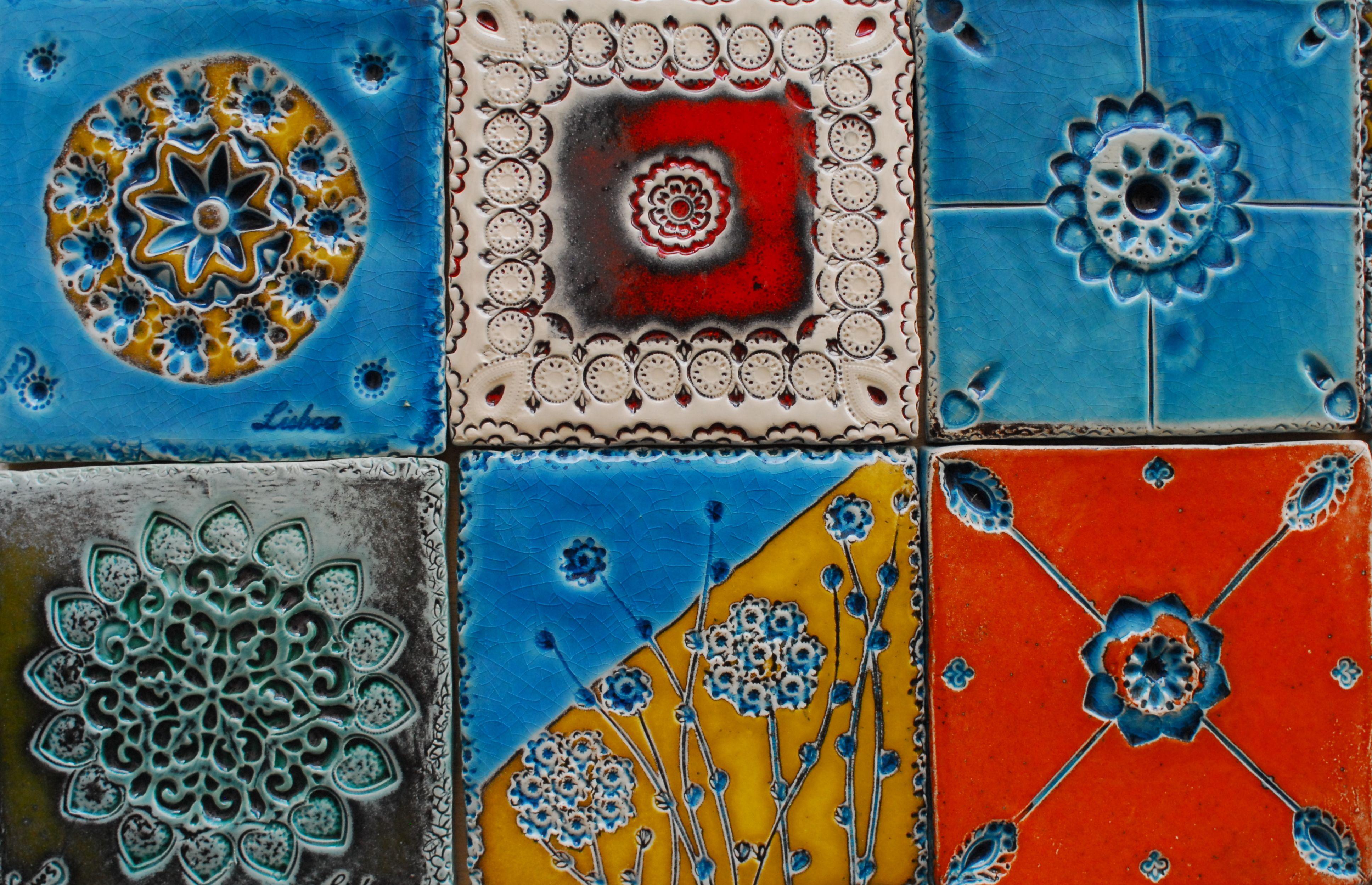 Azulejos po nowemu. Do wspominek i na wzór:)
