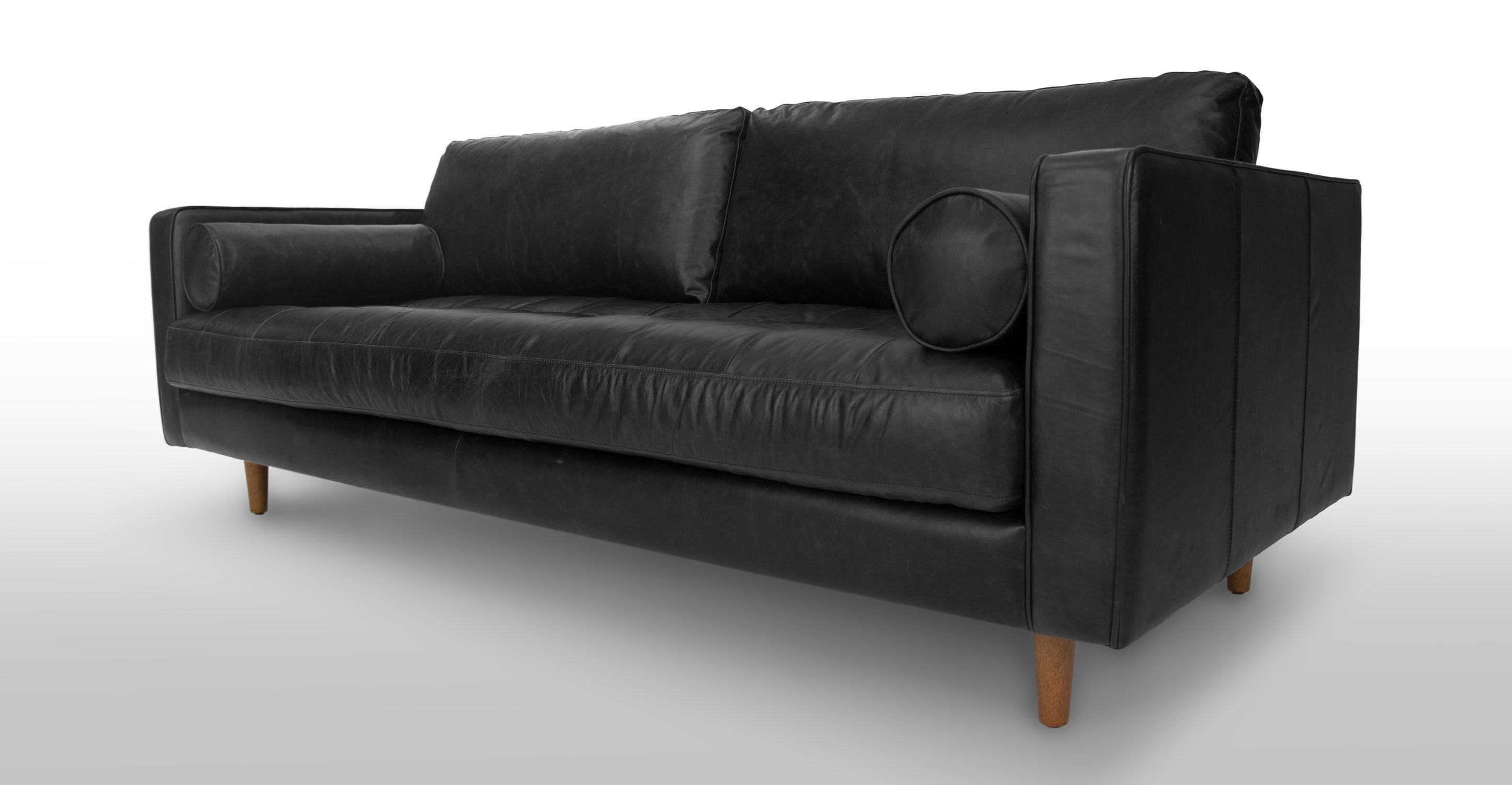 Sven Oxford Black Sofa Sofas Article