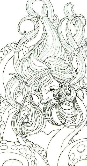 Sereia | Sirenas | Pinterest | Pintar, Dibujos para pintar y Delfines
