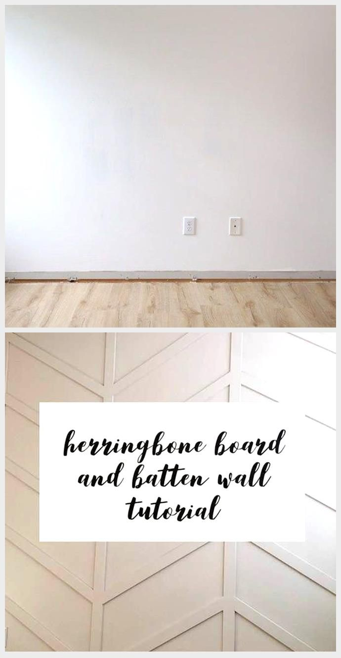 Easy DIY Board and Batten Wall How to easily install a DIY b Easy DIY Board and Batten Wall How to easily install a DIY b