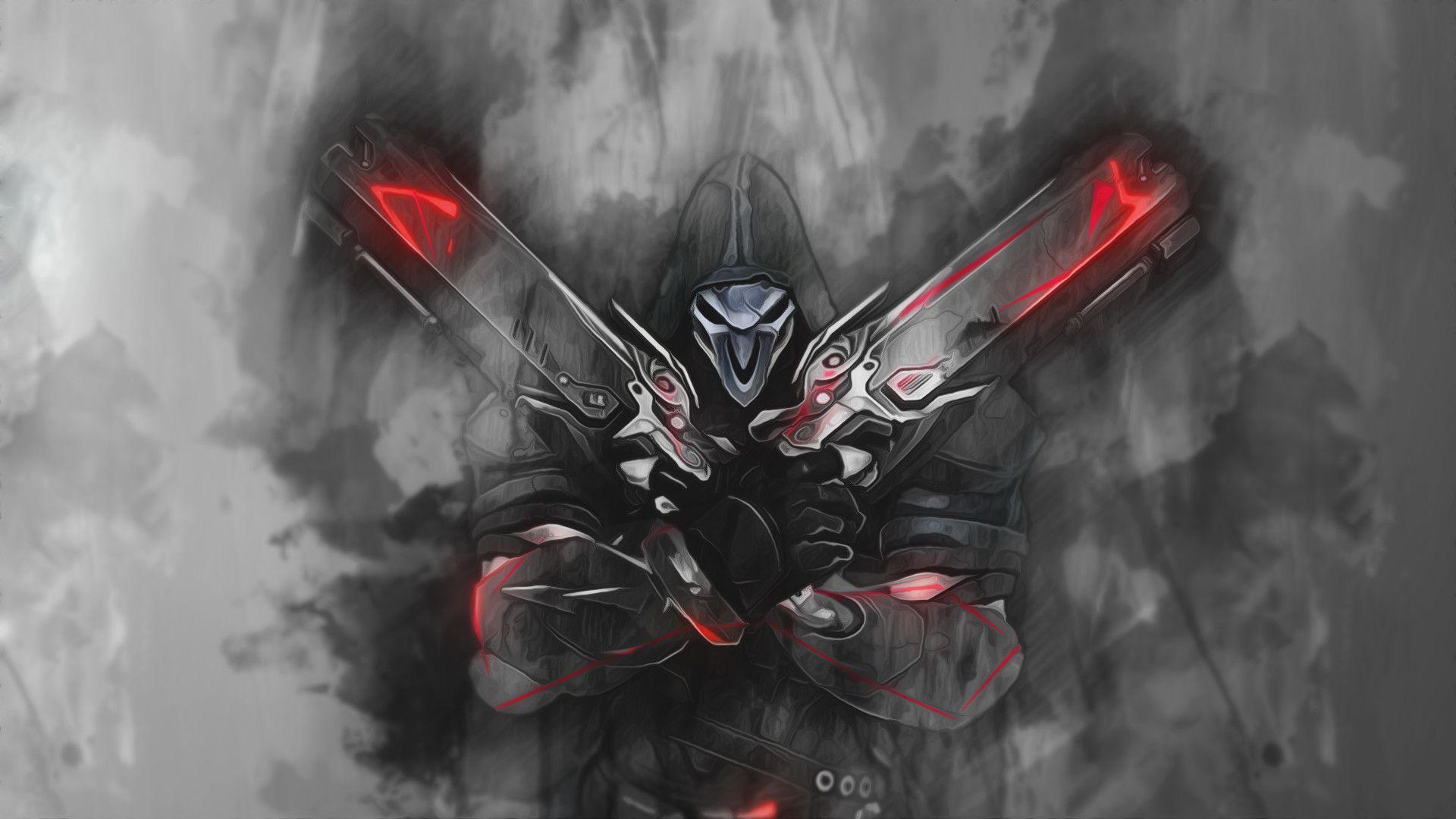 1920x1080 Reaper - Overwatch Wallpaper by ...