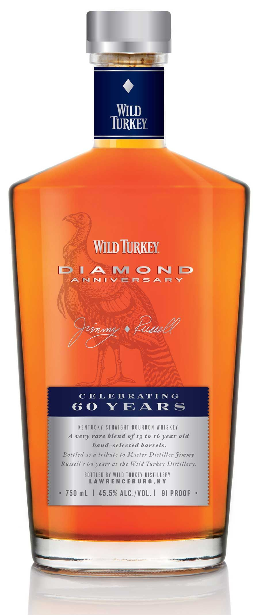 Wild Turkey Diamond Anniversary Bourbon Review Bourbon Banter Kentucky Straight Bourbon Whiskey Whiskey Bourbon Whiskey