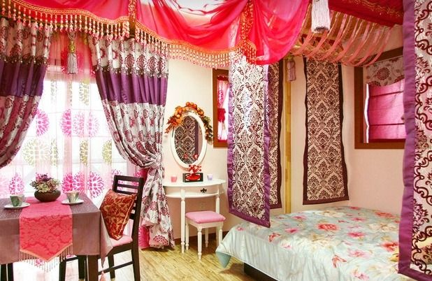 Bedsit This Is Beautiful Especially The Fabric Panels With