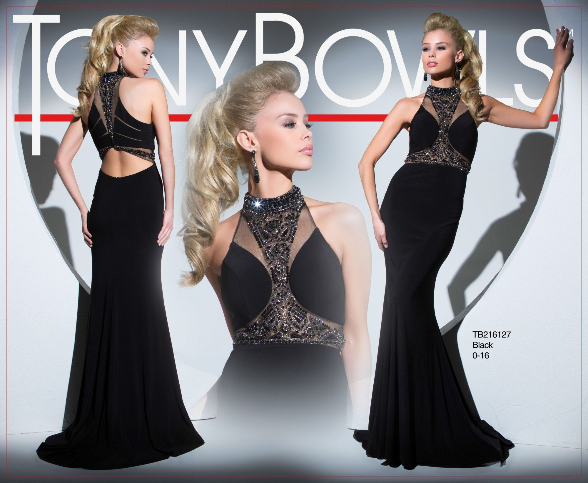 Tony Bowls Style TB216127 - View the Tony Bowls Collection now and contact a retailer near you to order the perfect designer dress for your social occasion!