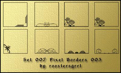 Pixel Border 003 by wolfgrrlone.deviantart.com on @deviantART