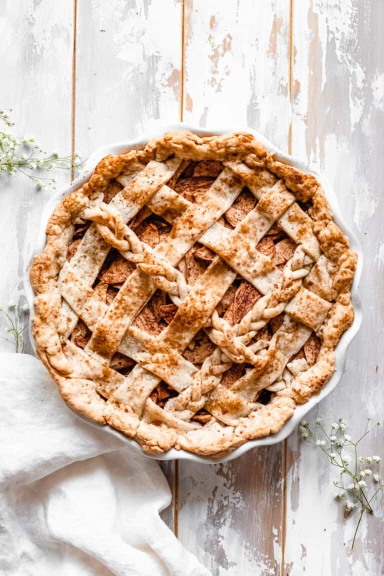 The Best Homemade Healthy Apple Pie Vegan The Banana Diaries Recipe In 2020 Healthy Apple Pie Healthy Apple Pie Recipe Vegan Apple Pie