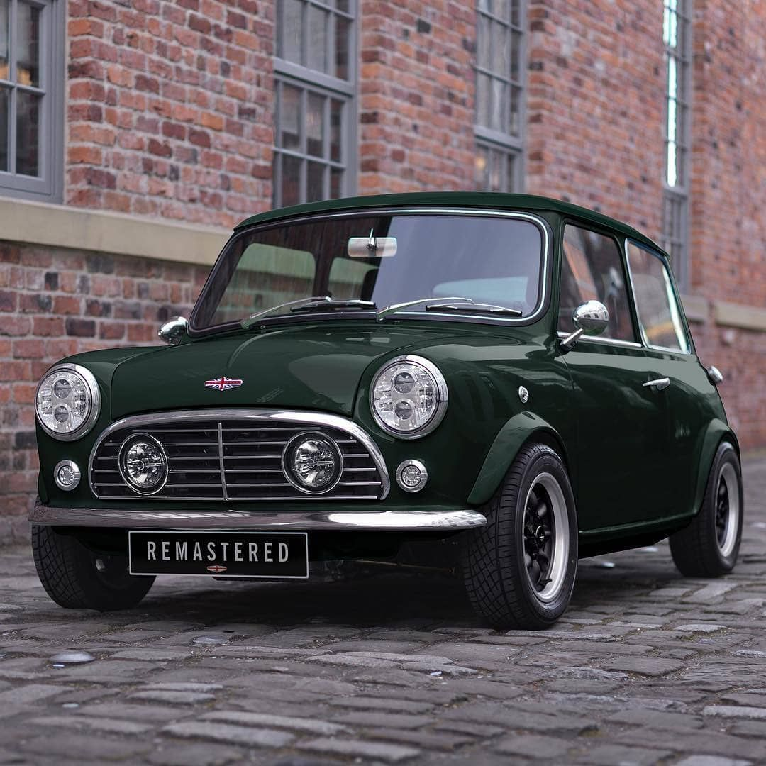 Starting The New Year With A Modern Classic Mini Remastered In