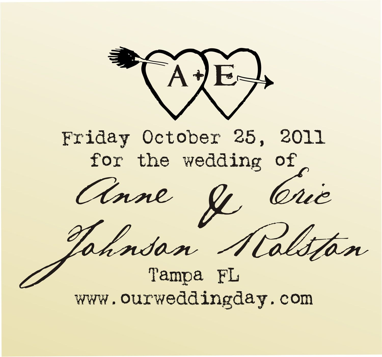 Save The Date Heart With Initials Etched Inside Typewriter Font Rubber Stamp Clear Blo Custom Wedding Stationary Wedding Stationary Save The Date Inspiration