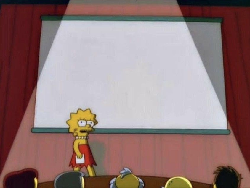 Lisa Simpson teaching meme | Meme template, Simpsons meme ...
