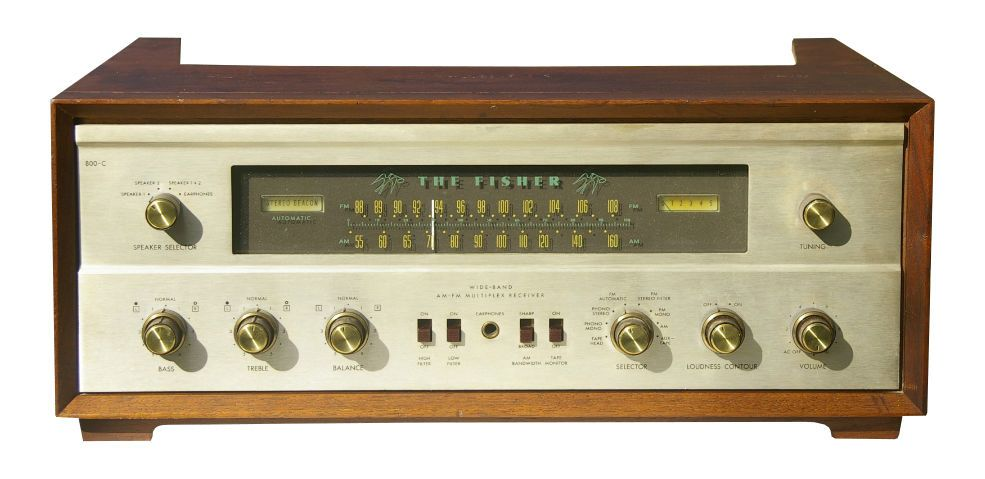 Top 5 Vintage Fisher Receivers | Vinyl Records & Stereo