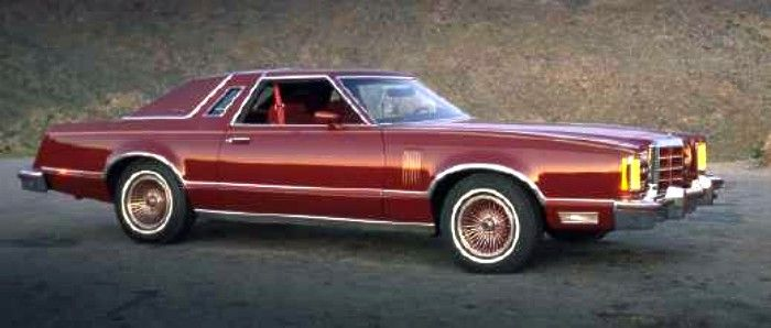 If I Was Going To Restore A Car 79 Ford Thunderbird 1979 Ford Thunderbird Heritage Edition In Maroon Ford Thunderbird Thunderbird Car Ford Classic Cars