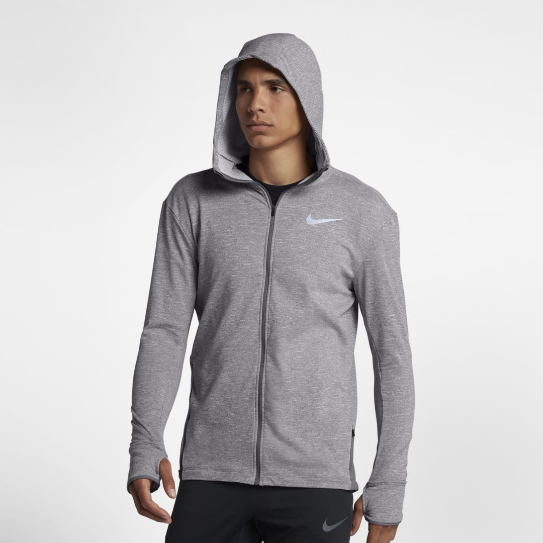 nike element full zip hoodie