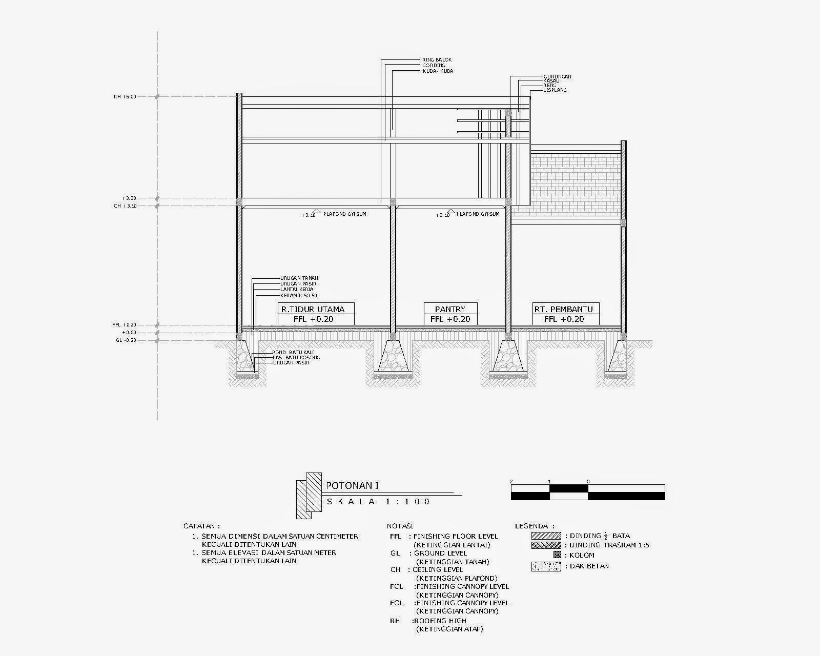 560 Gambar Autocad Rumah 2 Lantai Lengkap HD