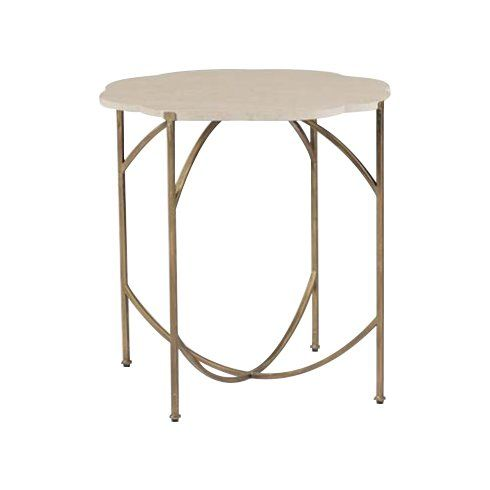 Gillian End Table Gold End Table Antique Reproduction Furniture Gabby Furniture
