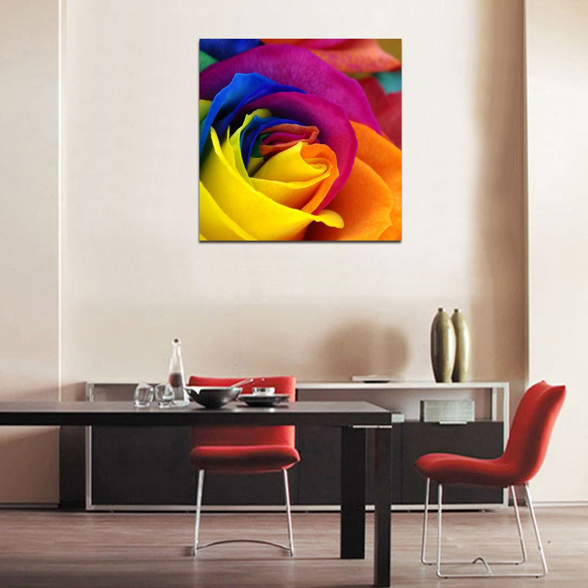 Us modern large picture hd canvas prints wall art painting framed