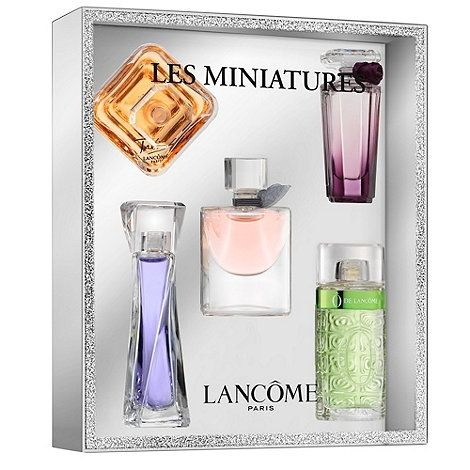 Lancome Lancome Miniature Fragrances Gift Set At Debenhams Com