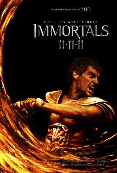 HENRY CAVILL Immortals poster PICTURES PHOTOS and IMAGES