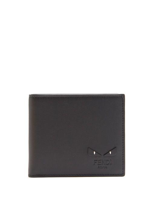 021bceaf9d FENDI Bag Bugs Bi-Fold Leather Wallet.  fendi  wallet