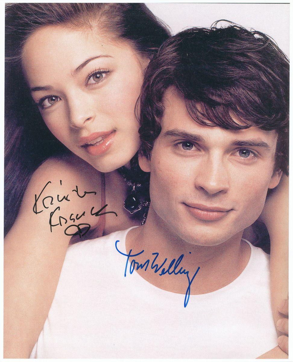 Kristin Kreuk Tom Welling..ahhh, I miss them together on TV....