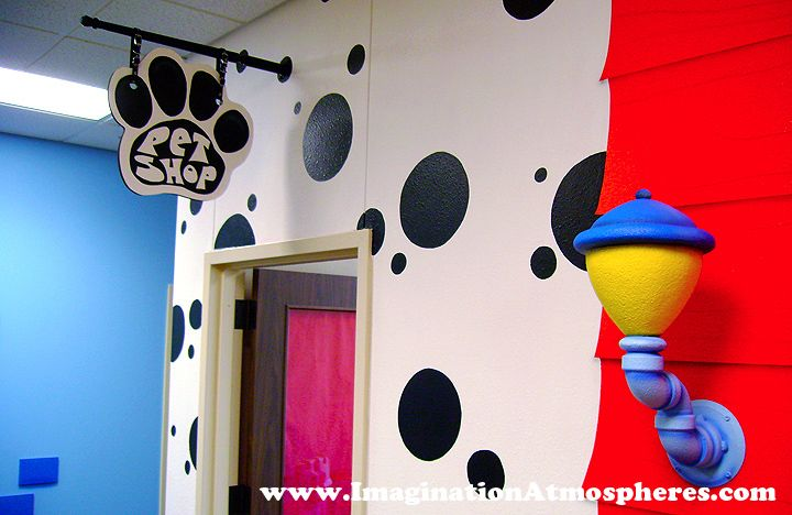 Pet Shop Kids Theme Room For Children's Space..I Just Had