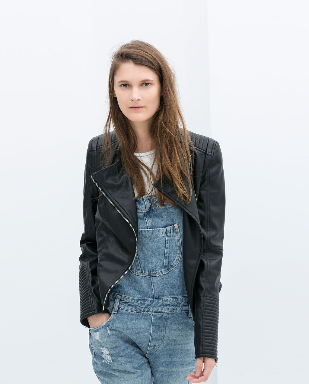 BIKER JACKET from Zara Jackets, Zara, Fashion
