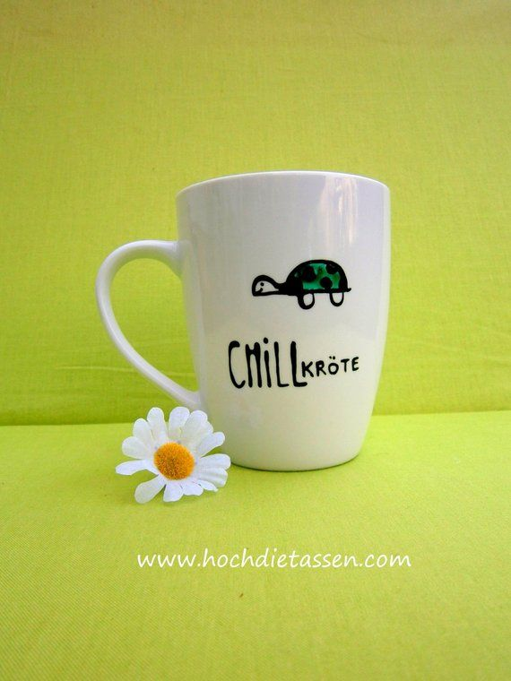 Cup Gift CHILLtoad, Coffee Cup, Chilling, Turtle, Chill Toad