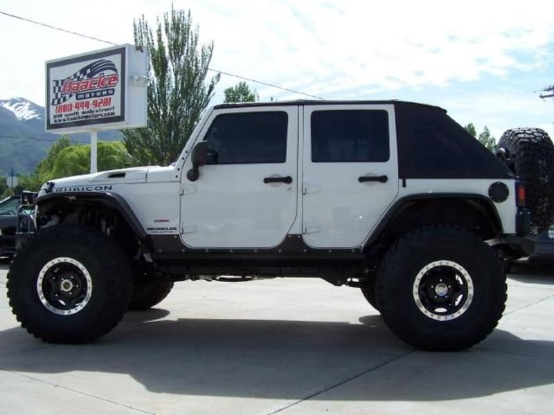 Jeep Wrangler Rubicon Soft Top 3 75 Lift Similar Custom Jeep