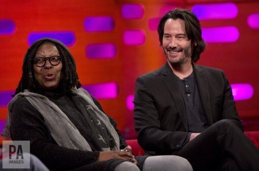 Keanu on the Graham Norton Show tonight.