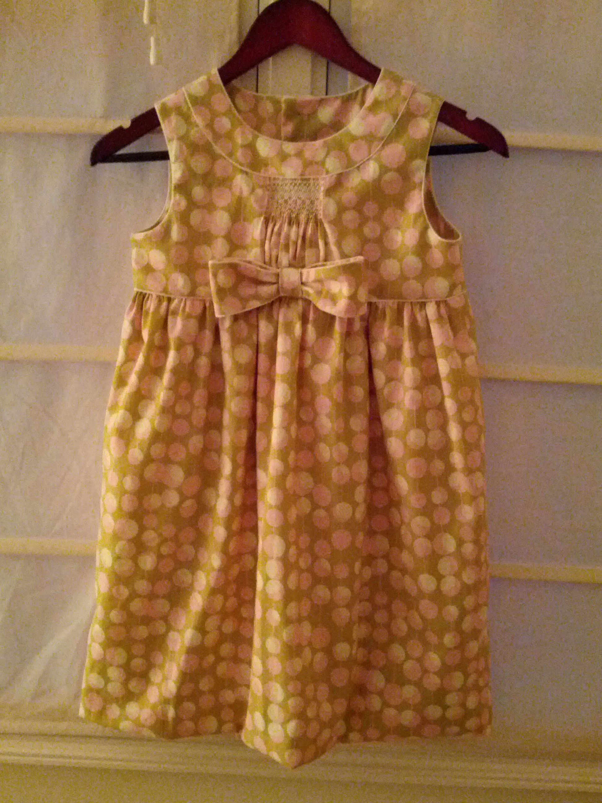 smocked baby dresses australia
