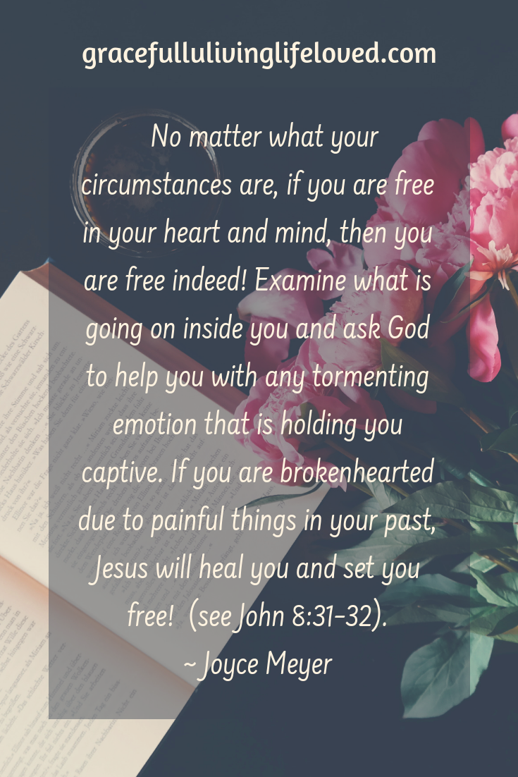 If you are brokenhearted due to painful things in your past