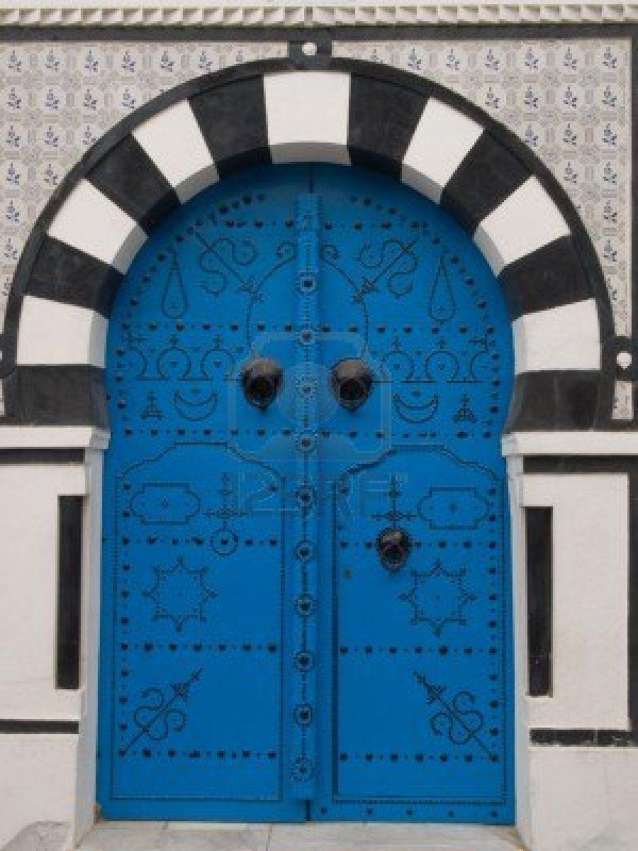 Porte traditionnelle Tunisienne