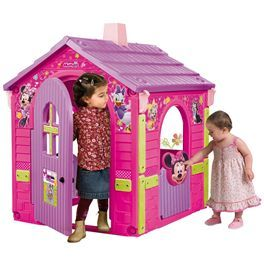 La casa de jard n de minnie mouse est totalmente decorada - Casa de minnie mouse ...