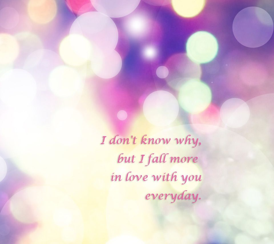 Fall more in love