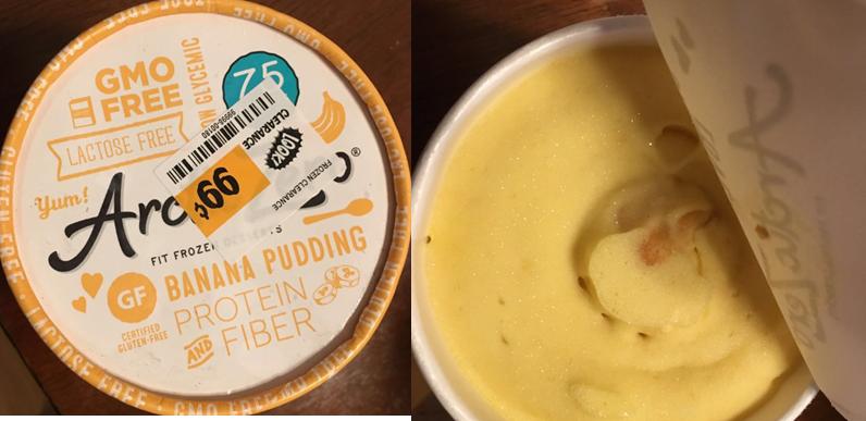 Icon Meal Popcorn Banana pudding, Lactose free