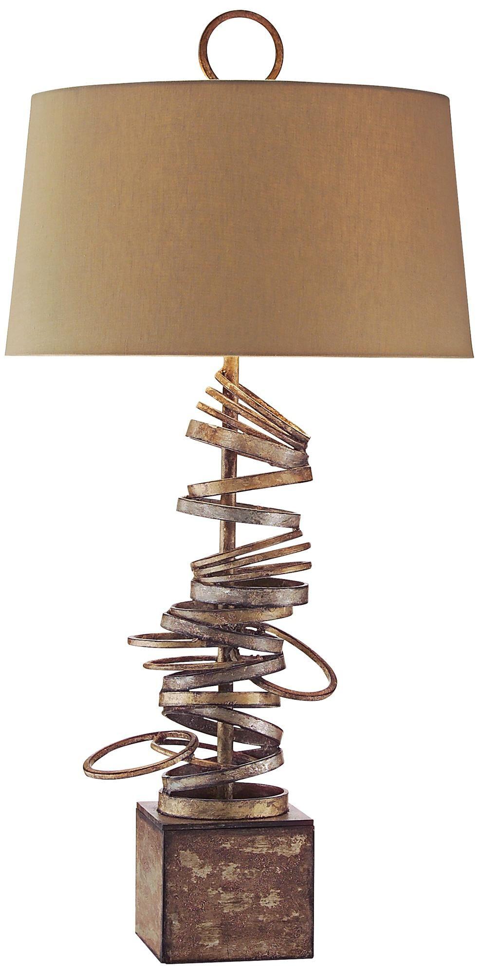 John richard iron ring table lamp lamps products and rings john richard iron ring table lamp geotapseo Image collections