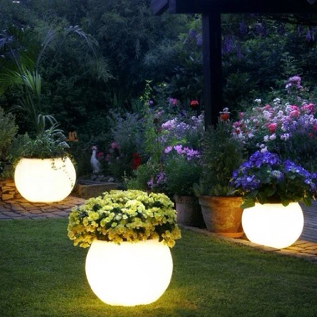 Fun Outdoor Lighting With