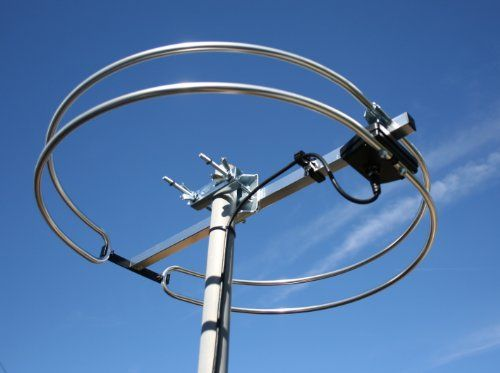 Fm Loop Antenna High Quality Outdoor Attic Mount And Rv
