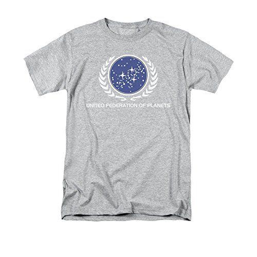 Star Trek United Federation Logo Enterprise Sci Fi Tv Show T Shirt