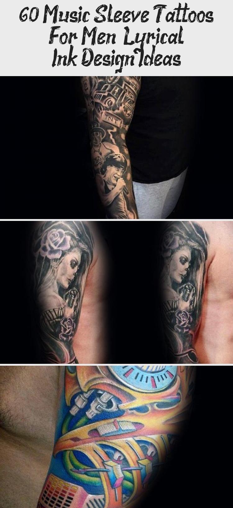Photo of 60 Music Sleeve Tattoos For Men – Lyrical Ink Design Ideas – Tattoo Blog