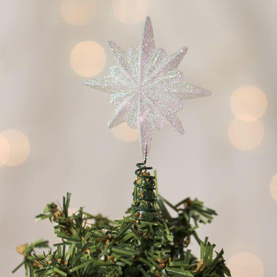 mini christmas tree star topper - Mini Christmas Tree Topper