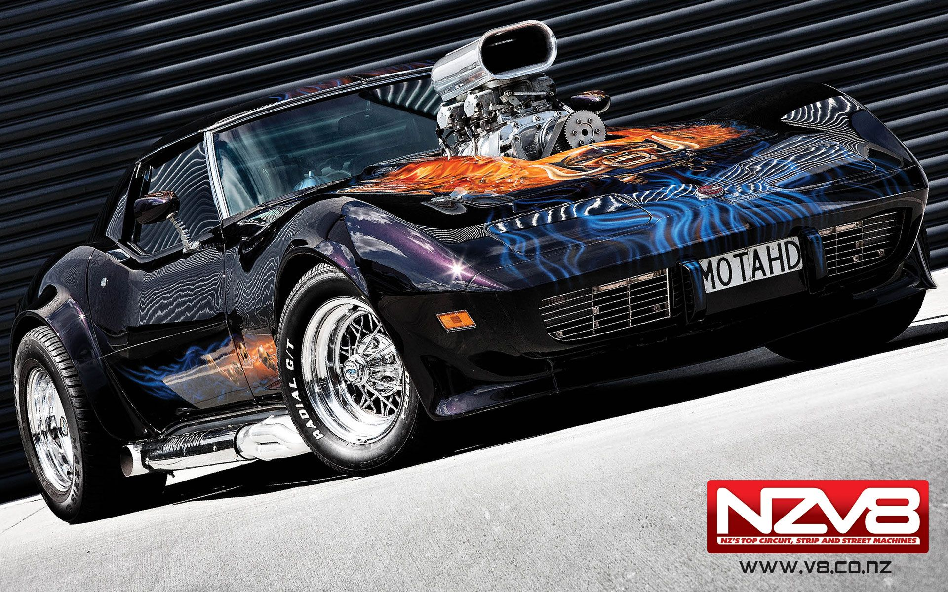 Custim Blown Corvette Stingray