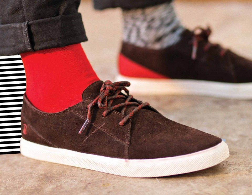 Volcom lo fi shoes - Brown khaki #volcomfootwear